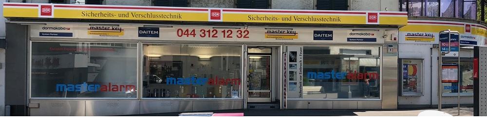 Schlüsseldienst Zürich Büro Standort Zürich Frontansicht