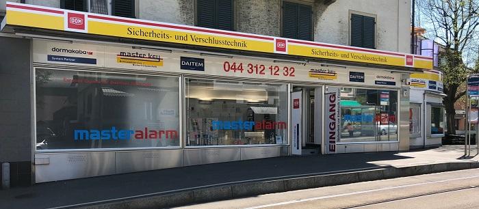 Unternehmen Schlüsseldienst Master Key am Berninaplatz 1 in Zürich