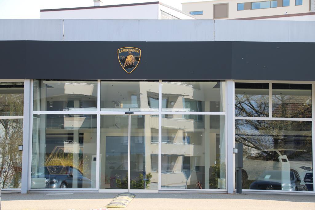 Referenzen zu unseren Elektronischen Schliesssystemen Lamborghini Zürich