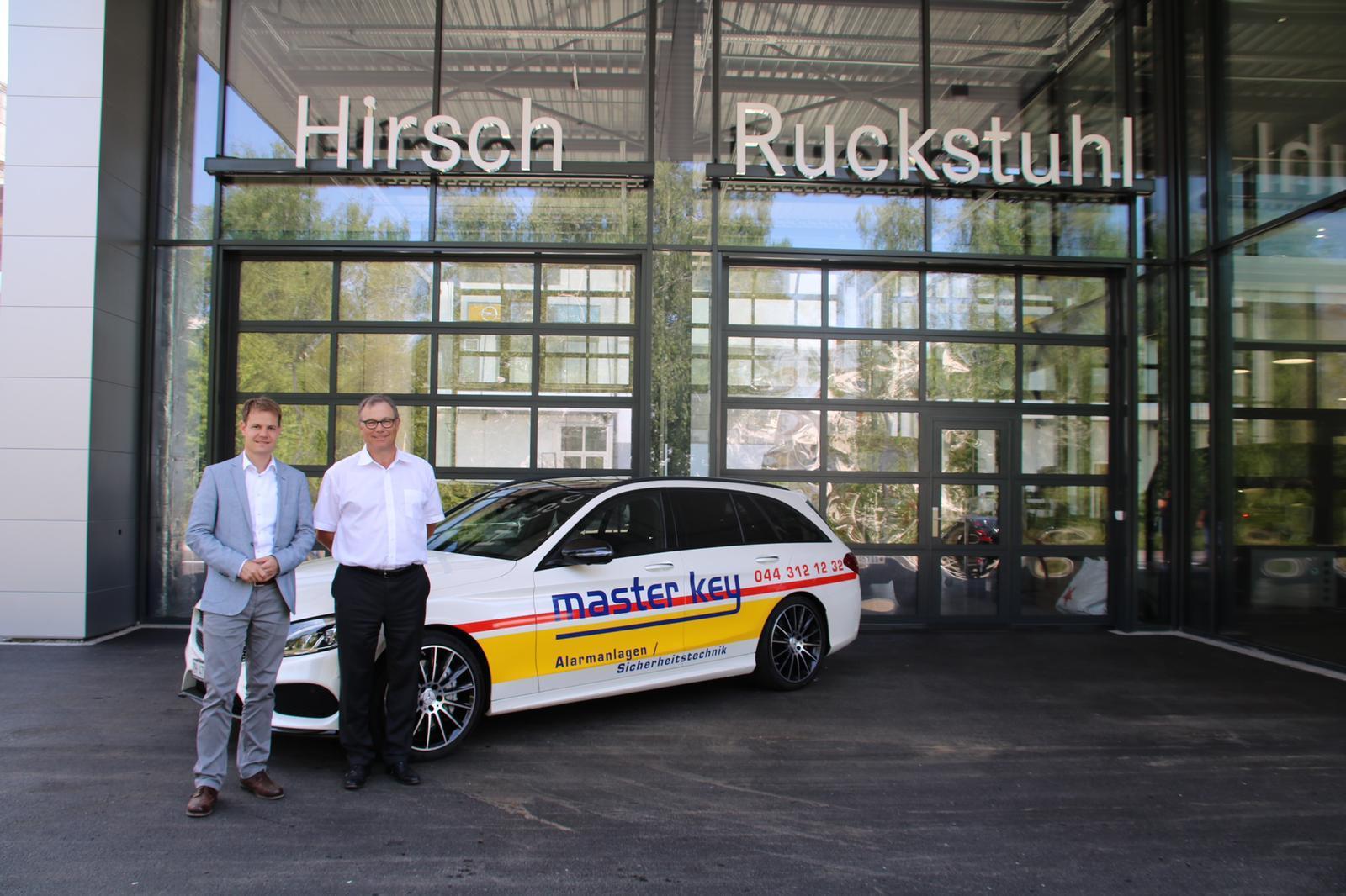 Referenzen zu unseren Elektronischen Schliesssystemen Mercedes Benz Hirsch Ruckstuhl Knoten