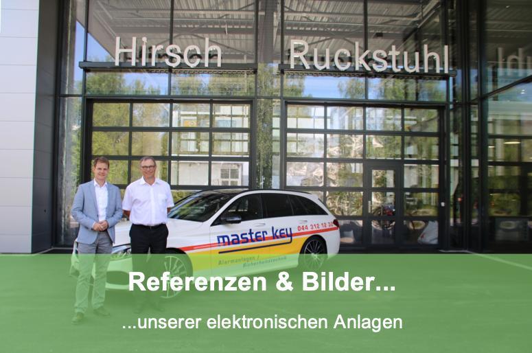 Referenzen zu den Elektronischen Schliesssystemen Schlüsseldienst Zürich