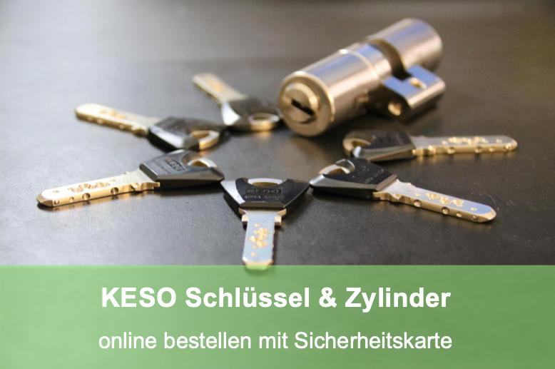 Schlüssel oder Zylinder Bestellung Keso Assa Abloy online